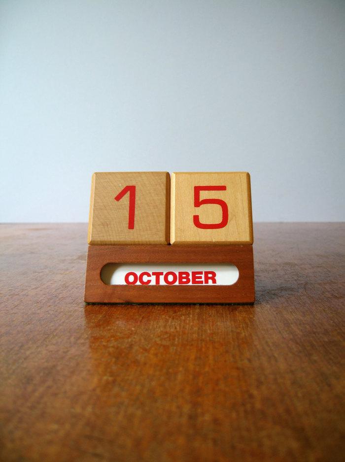 1960s perpetual calendar 3