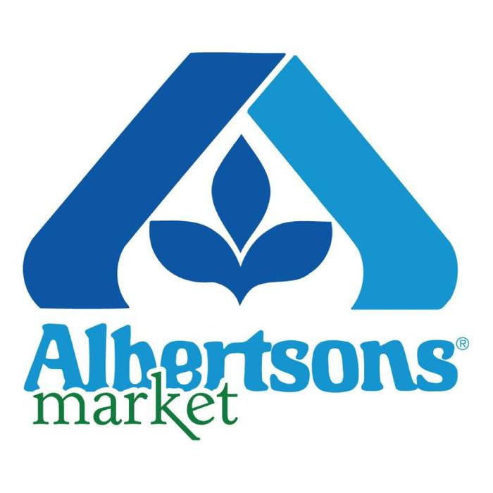 Albertsons logo and signs 4