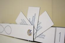 Letterpress perpetual calendar
