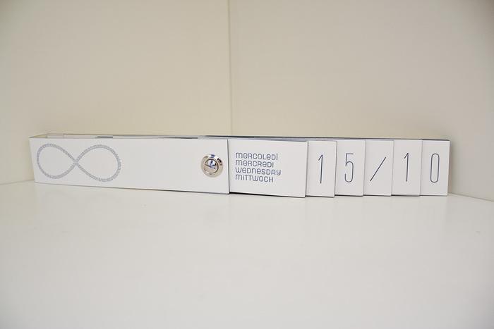 Letterpress perpetual calendar 5