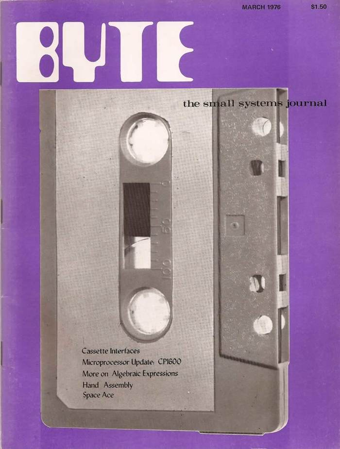 Byte Magazine covers, 1976–84 1