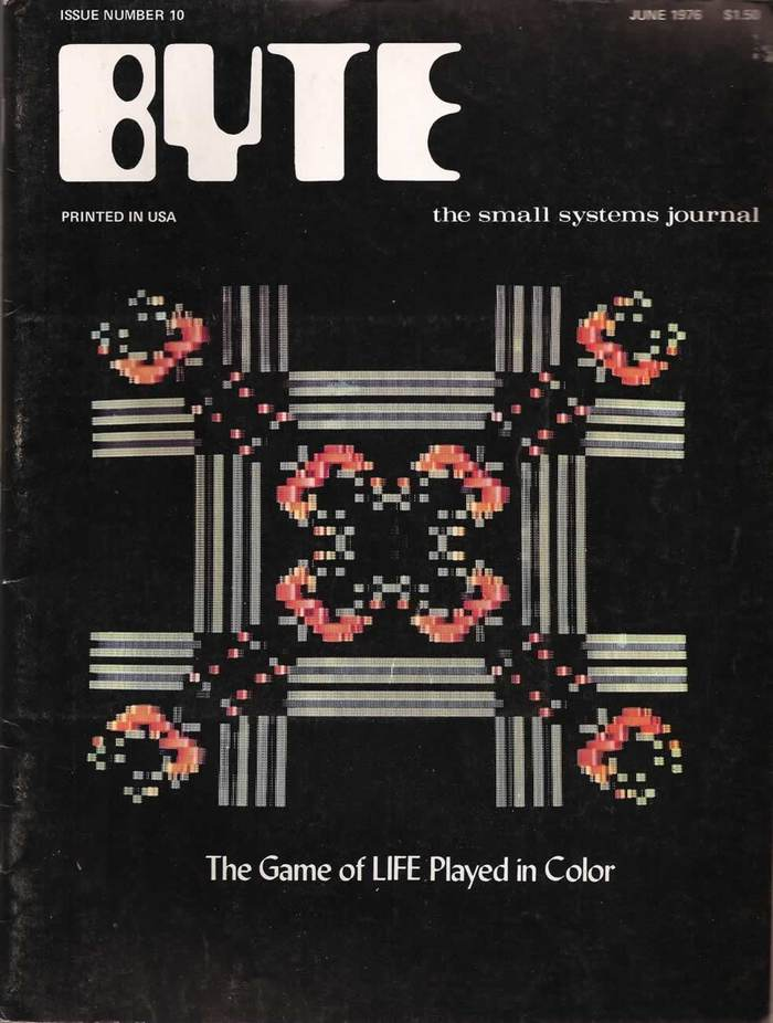 Byte Magazine covers, 1976–84 2