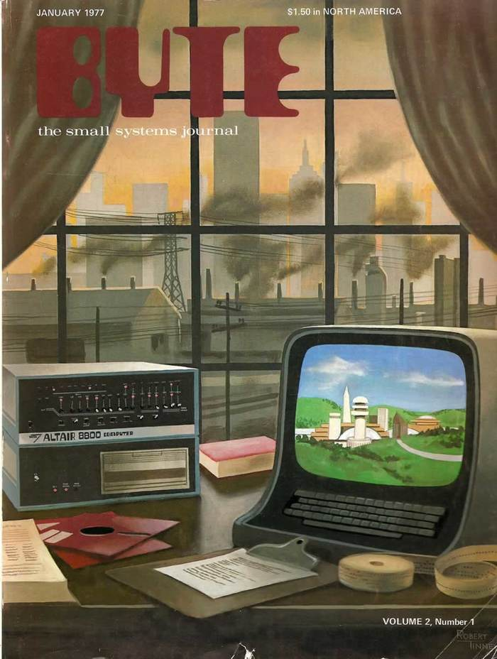 Byte Magazine covers, 1976–84 3