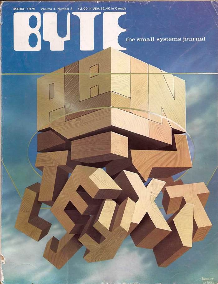 Byte Magazine covers, 1976–84 6