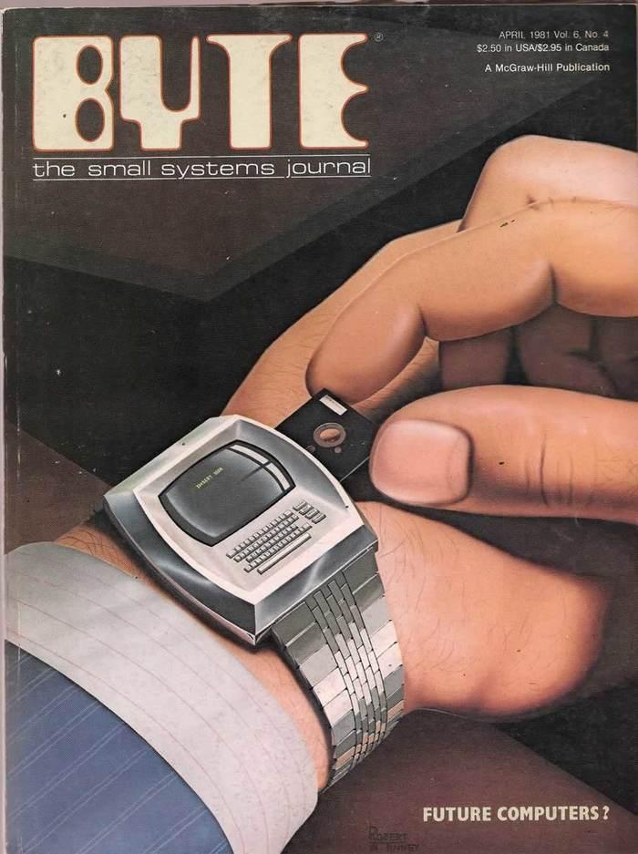 Byte Magazine covers, 1976–84 5