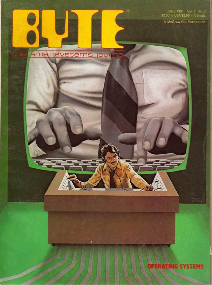 Byte Magazine covers, 1976–84 7