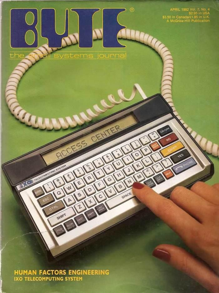 Byte Magazine covers, 1976–84 9