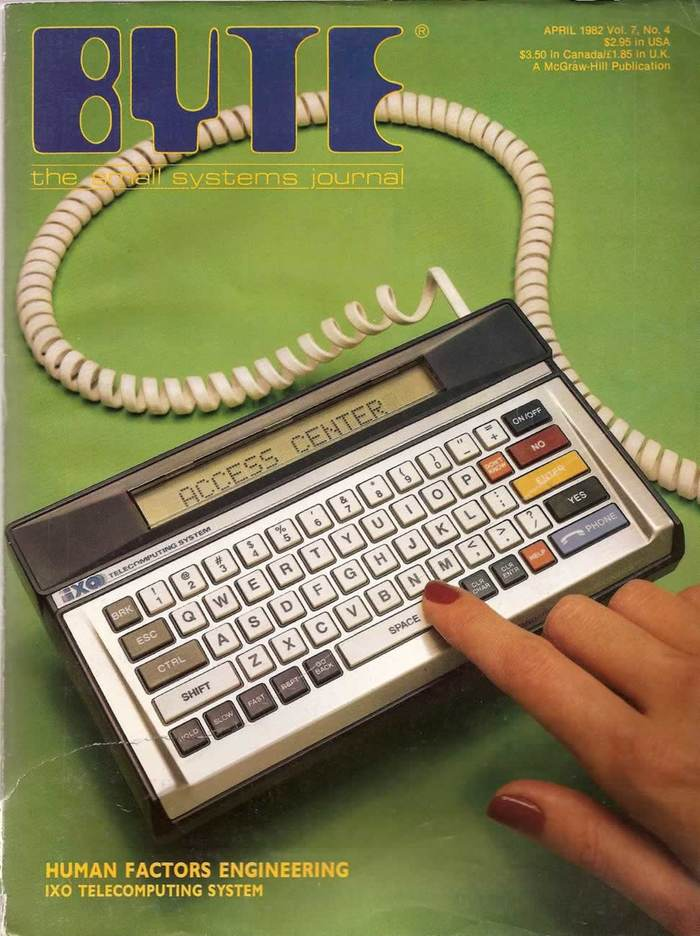 Byte Magazine covers, 1976–84 9