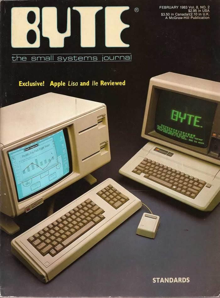 Byte Magazine covers, 1976–84 11
