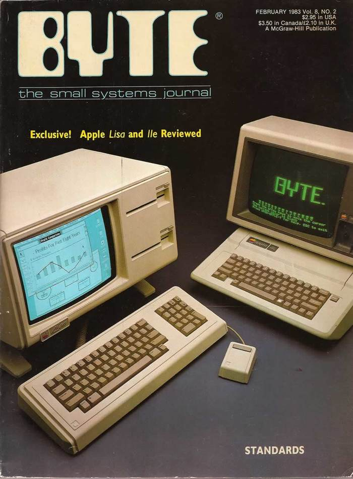 Byte Magazine covers, 1976–84 11