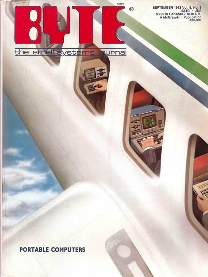 Byte Magazine covers, 1976–84 10
