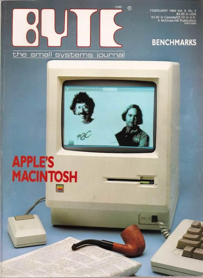 Byte Magazine covers, 1976–84 12