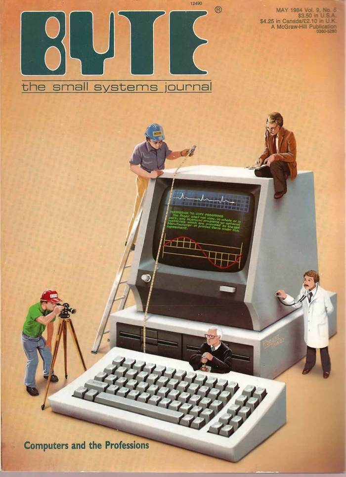 Byte Magazine covers, 1976–84 13