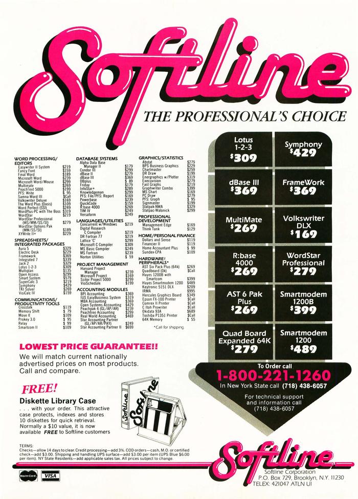 Softline ad