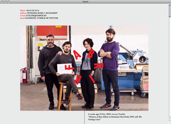 Atelier Fabrik website 1