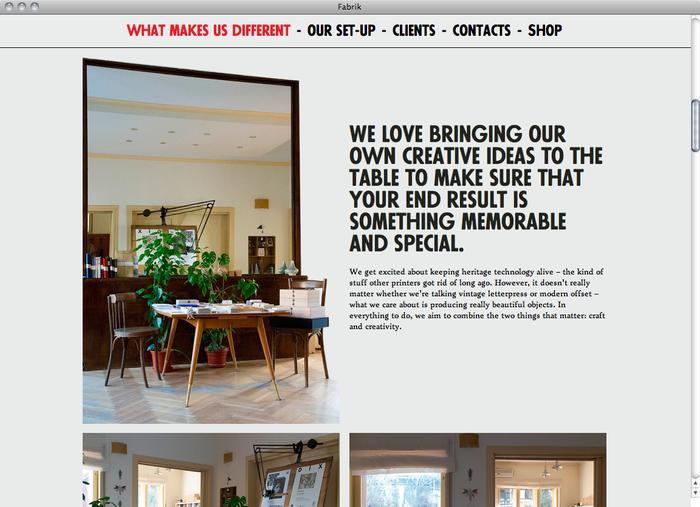 Atelier Fabrik website 2