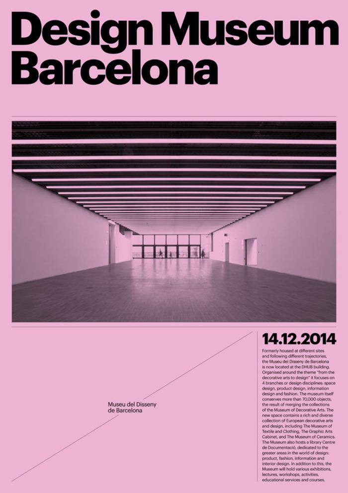 Design Hub Barcelona poster