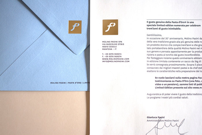 Molino Pasini Flour: Limited Edition Box 3