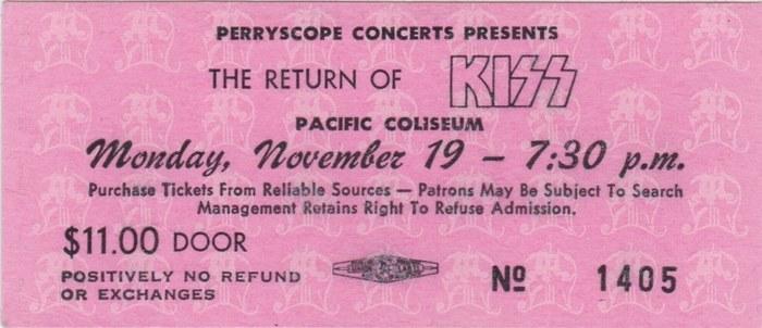 Monday: KISS (1979)