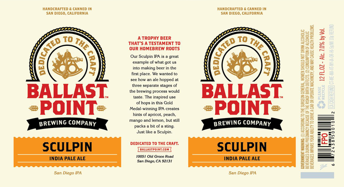 Ballast Point Sculpin 1