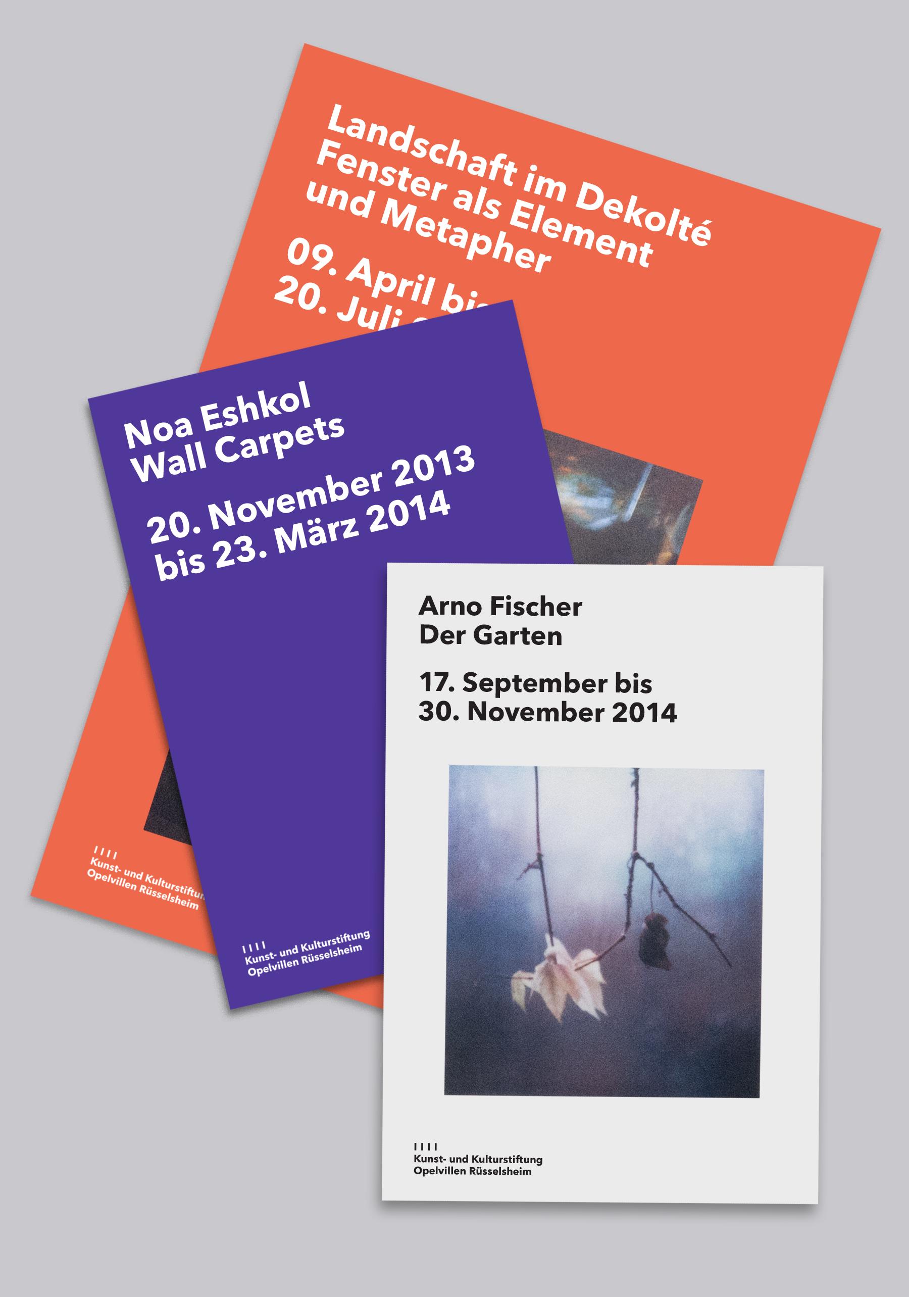 Kunst- und Kulturstiftung Opelvillen Rüsselsheim - Fonts In Use