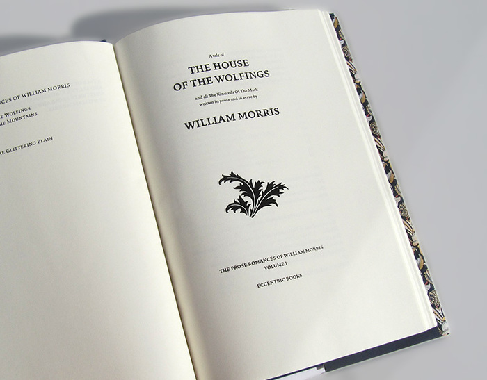 The Prose Romances of William Morris 2