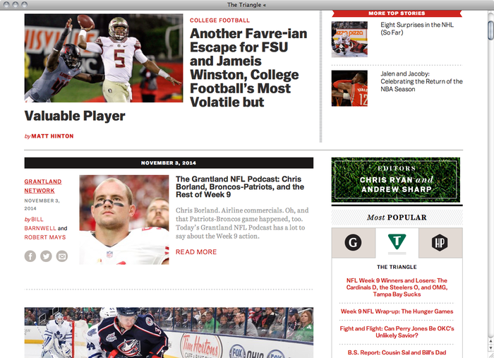 Grantland website 2