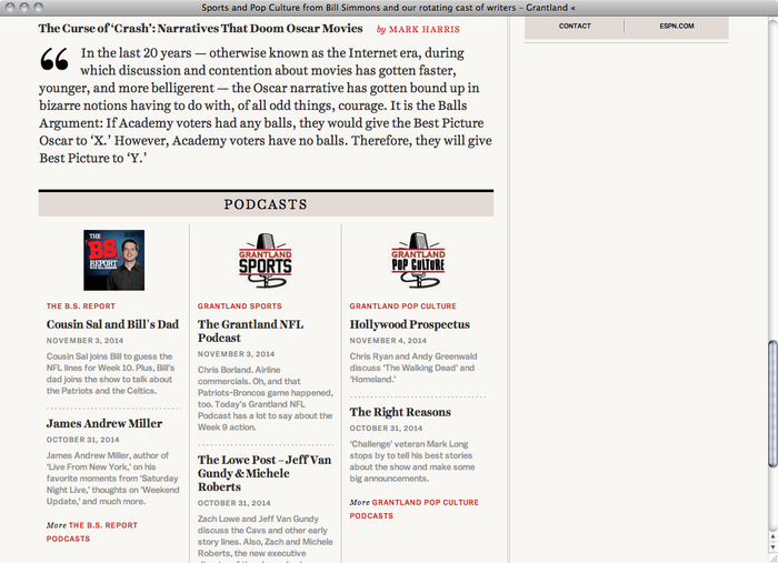 Grantland website 3