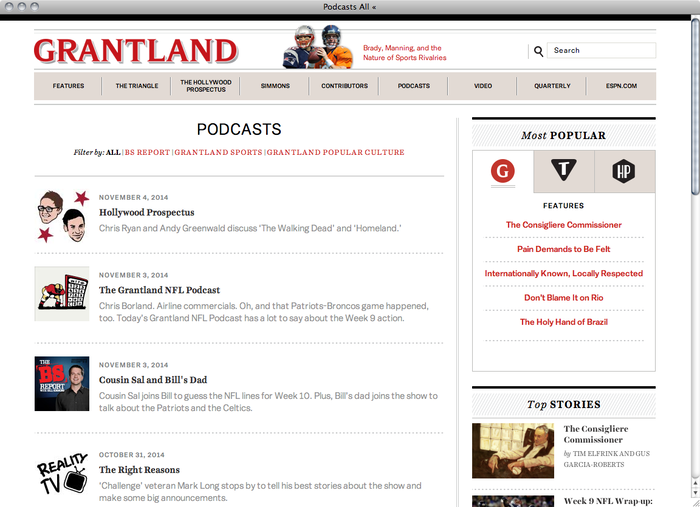 Grantland website 4