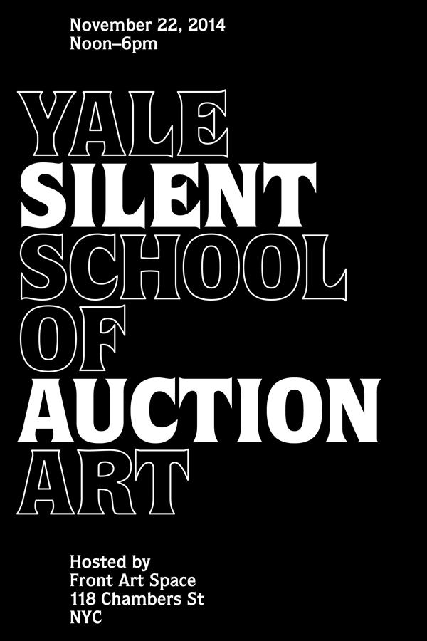 Yale School of Art Silent Auction