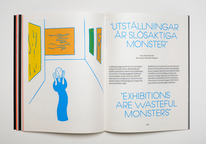 Avantesk by Tiago Balas, a reconstruction of Avant Gardepaired with illustrations depicting Edvard Munch works.
