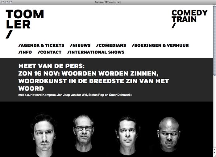 Toomler website 1