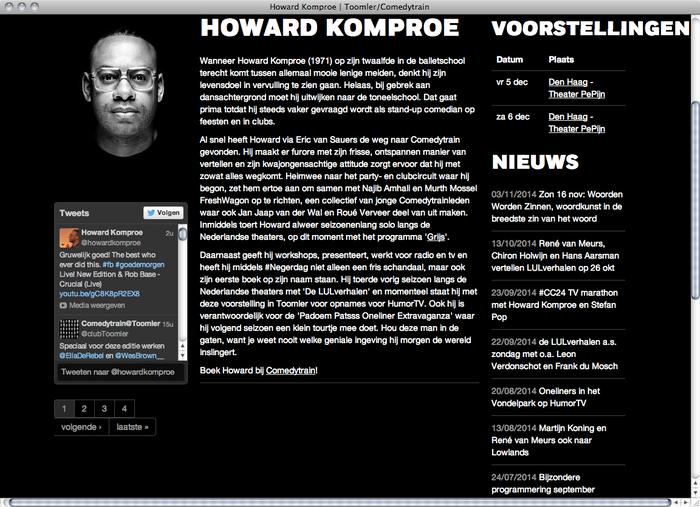 Toomler website 4