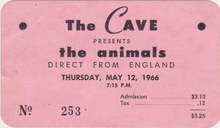 <cite>The Cave</cite> ticket