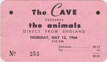 <cite>The Cave</cite> ticket