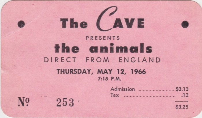 The Cave ticket