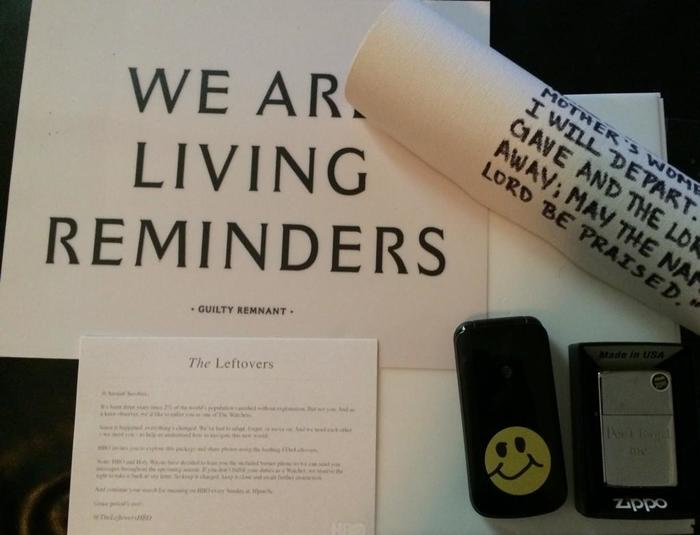 The Leftovers: Guilty Remnant posters and messages 8