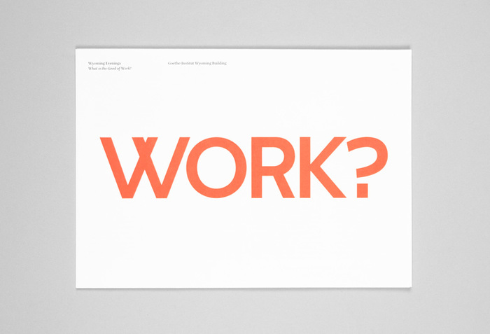 What is the Good of Work? 4