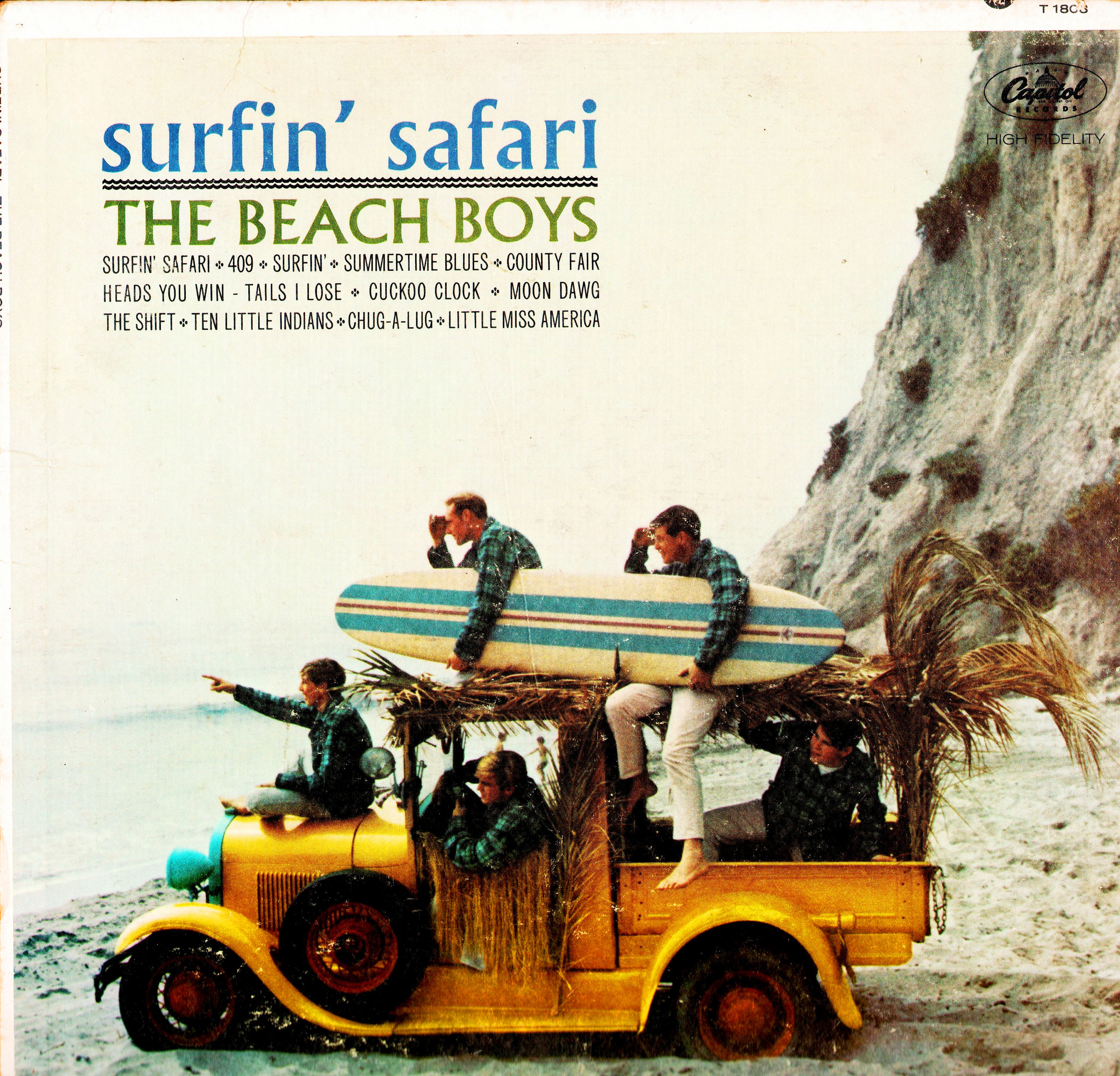 Surfin Safari By The Beach Boys Fonts In Use
