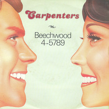 "The Carpenters – ""Beechwood 4-5789"" single cover"