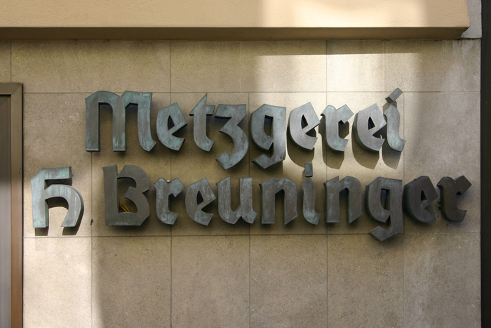 Metzgerei H. Breuninger 1