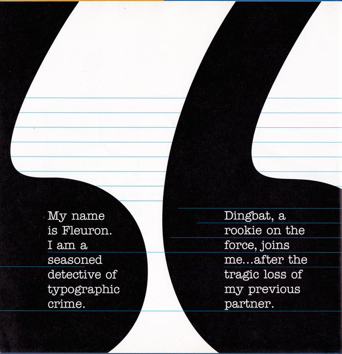 A Type Detective Story by Matthew Woolman 1