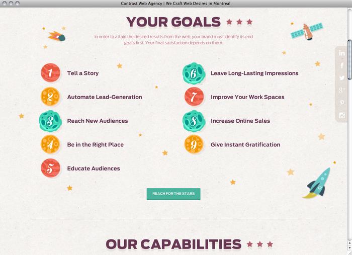 Contrast Web website 2