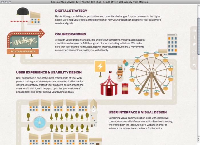 Contrast Web website 4
