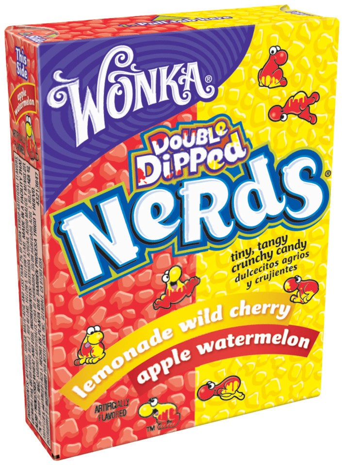 Wonka Nerds - Fonts In Use
