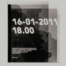 Prada show invitation