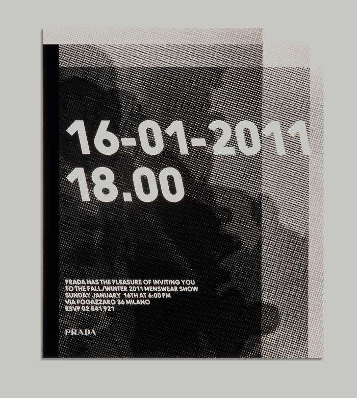 Prada show invitation 1