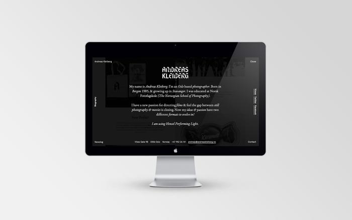 Andreas Kleiberg website 7