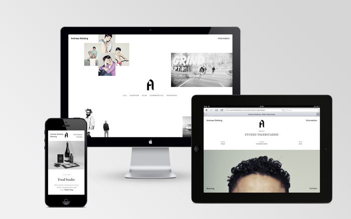 Andreas Kleiberg website 8