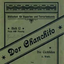 <cite>Der Chanchito</cite> – Bibliothek für Aquarien- und Terrarienkunde, Issue 12